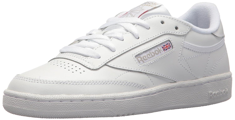 Reebok Women's Club C 85 Running Shoe B072JNLVHT 10.5 B(M) US|White/Light Grey