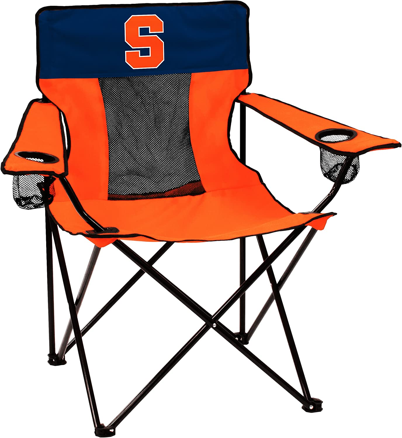 NCAA Logo Brands Syracuse Orange Elite Chair, Team Color