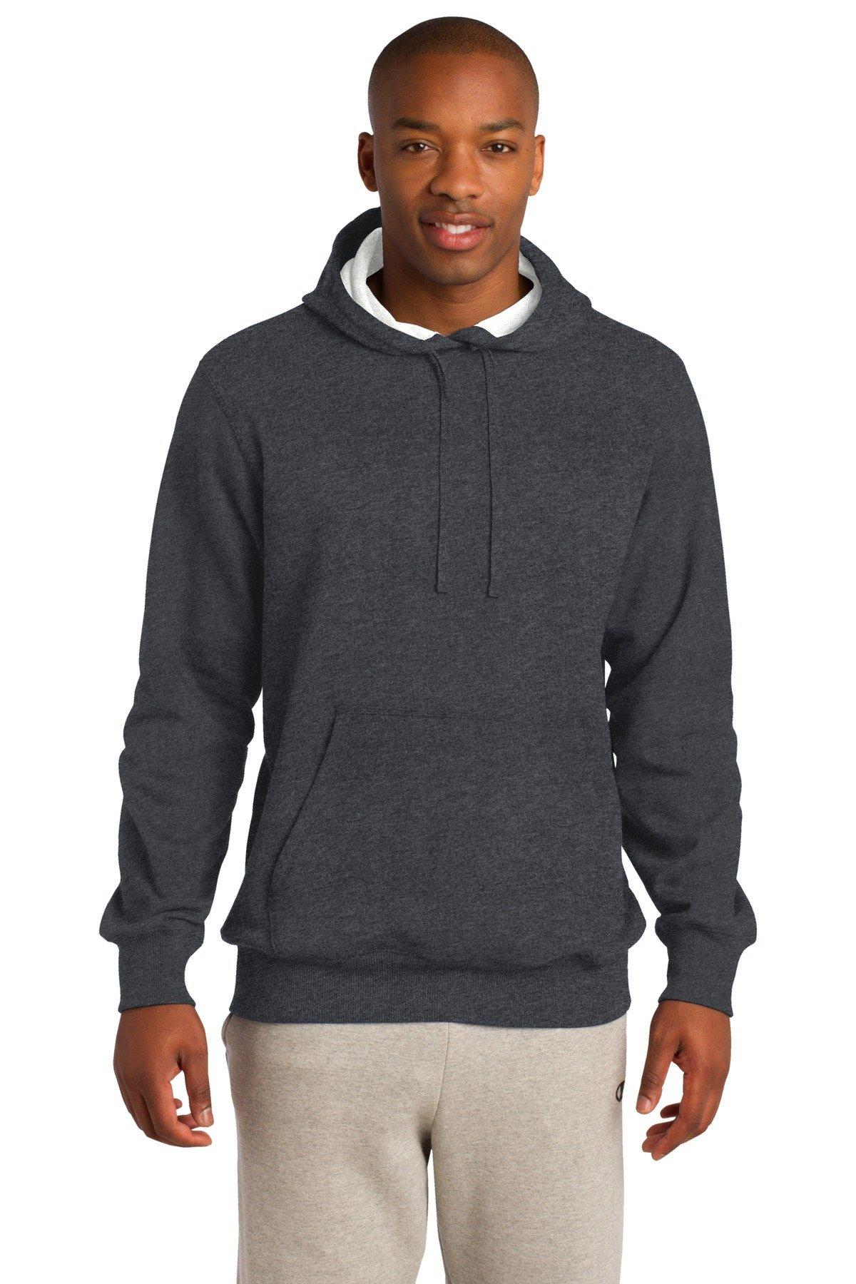 Sport-Tek Tall Pullover Hooded Sweatshirt. 3XLT Graphite Hthr by Sport-Tek
