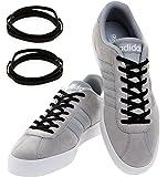 MAXXLACES Flache elastische Schnürsenkel mit einstellbarer Spannung in verschiedenen Farben Schuhbänder ohne Binden komfortable Schuhbinden einfach zu bedienen Past zu jedem Schuh