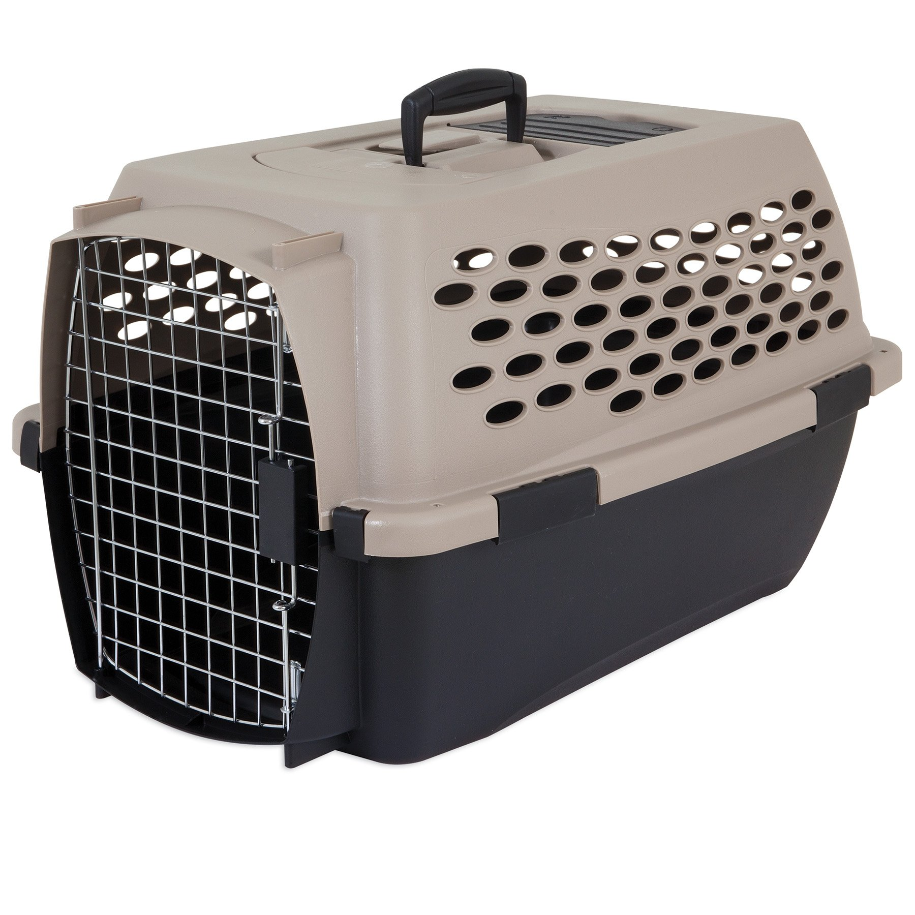 Petmate Vari Kennel Heavy-Duty Dog Travel Crate No-Tool Assembly 2 Sizes 2 Colors by Petmate