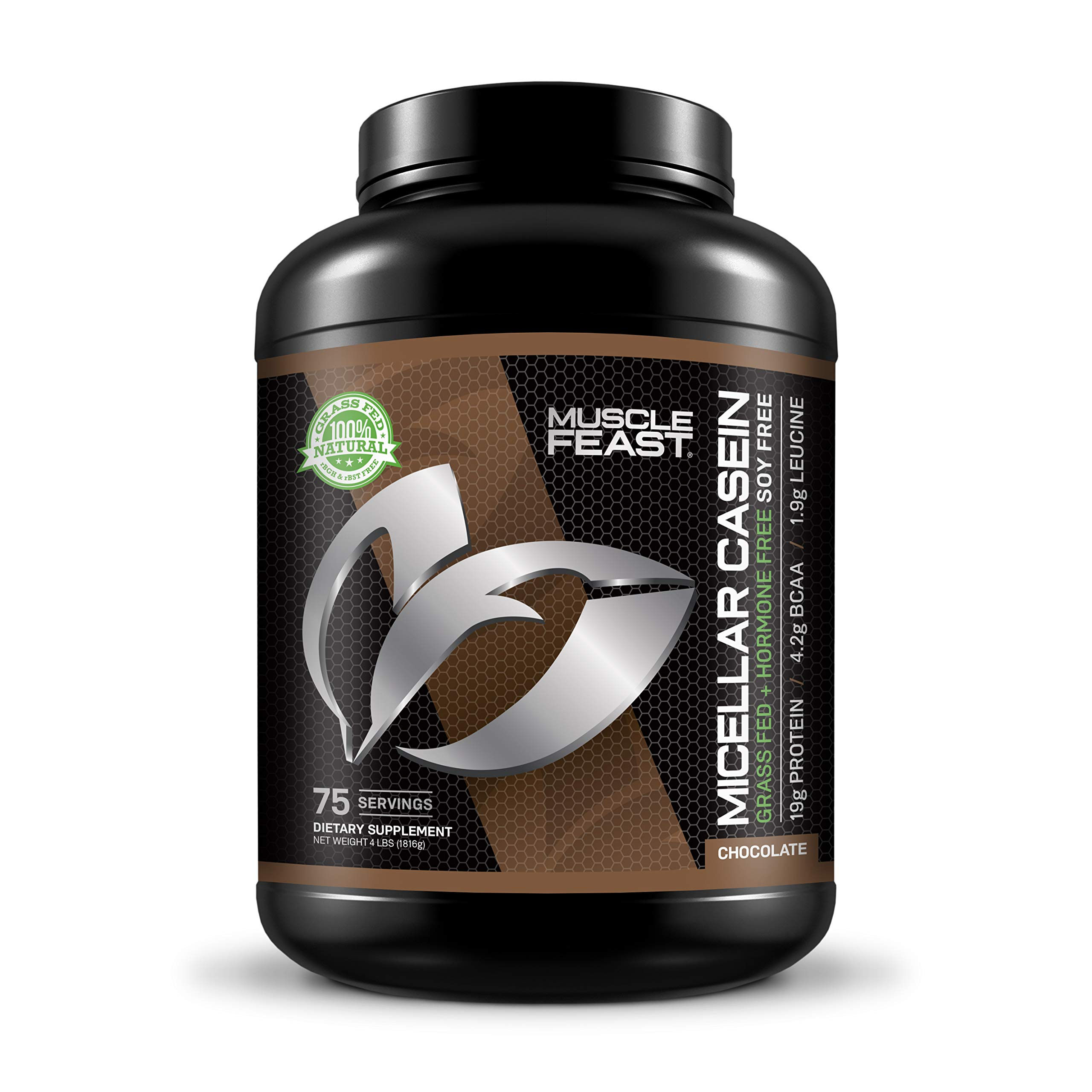 Grass Fed Micellar Casein - 4lbs (Chocolate)