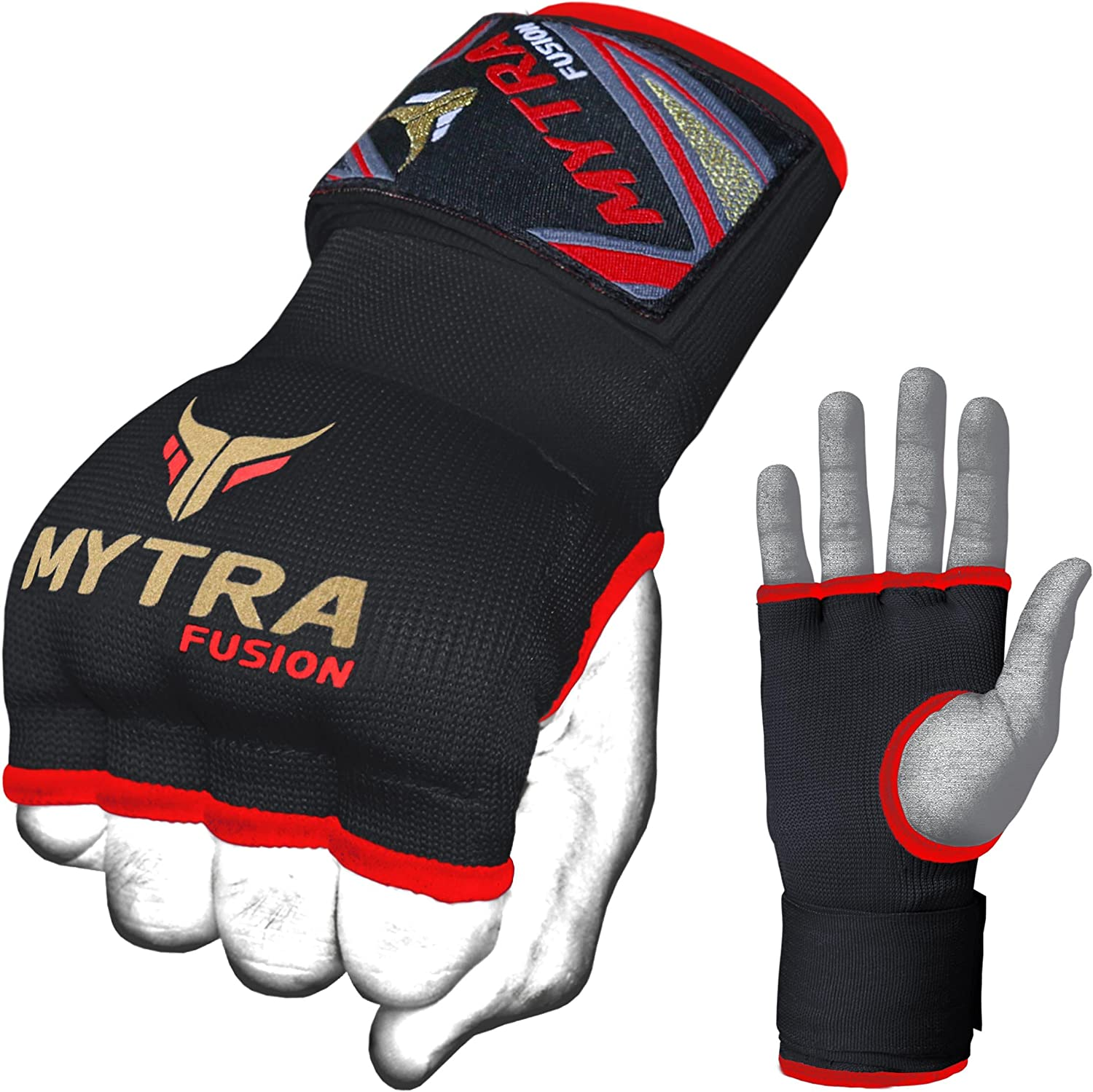 Mytra Fusion Kids Hybrid Boxing Inner Gloves Punching Boxing MMA Muay Thai Gy...
