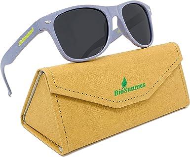 Gafas de sol ecológicas para hombres y mujeres con lentes ...