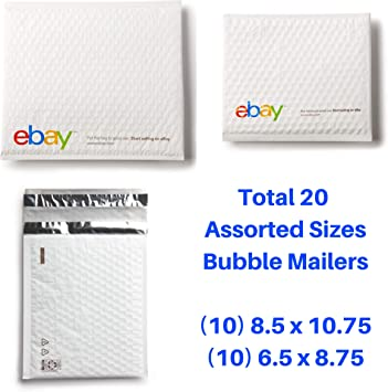"new small 10 blue Branded Airjacket Padded Envelopes 6.5/"" x 8.75/"""