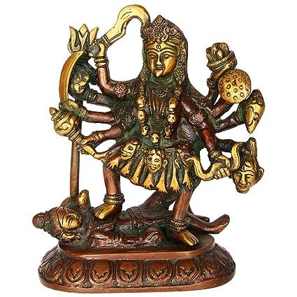 Buy Kapasi Handicrafts Antique Indian Hindu Deity Goddess Mahakali
