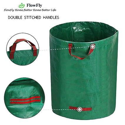 Amazon.com: FlowFly Bolsas de residuos de jardín ...