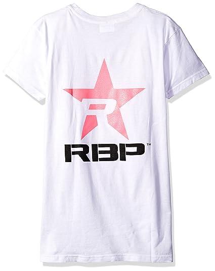Amazon.com: RBP Womens T-Shirt with Pink Star (Black, Large ...