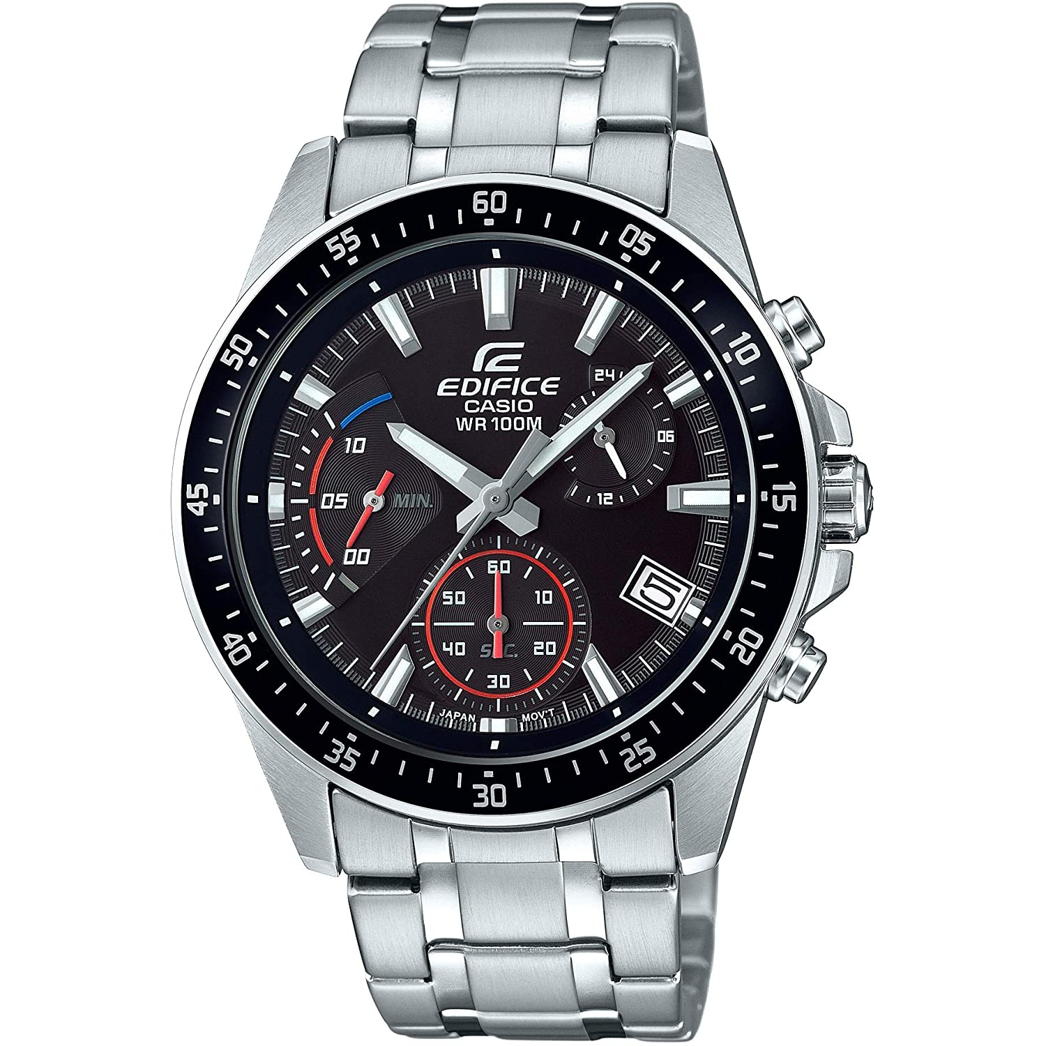 a5af9f7b8924 Casio Edifice Men s Watch EFV-540D-1AVUEF  Amazon.co.uk  Watches