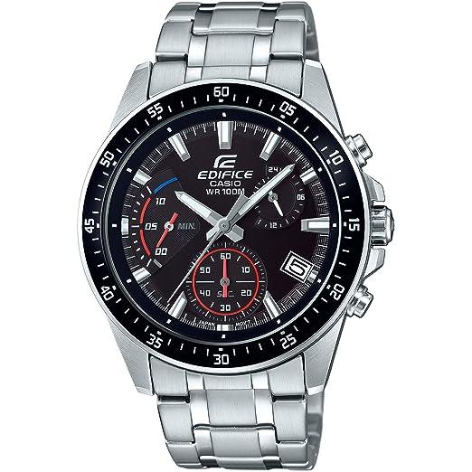 Casio Reloj Cronógrafo para Hombre de Cuarzo con Correa en Acero Inoxidable EFV-540D-1AVUEF: Amazon.es: Relojes