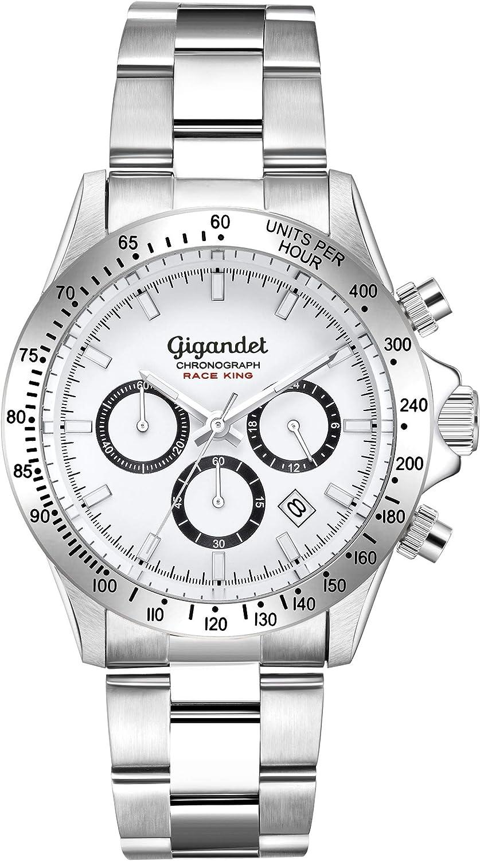 Gigandet Reloj Analógico para Hombre de con Correa en Acero Inoxidable G33-001