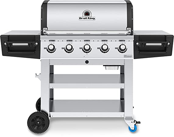 Amazon Com Broil King 886114 Regal S520 Commercial Propane Gas Grill 5 Burner Stainless Steel Garden Outdoor