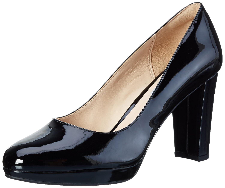 Clarks Kendra Sienna, Zapatos de Tacón para Mujer 42 EU|Negro (Black Patent)