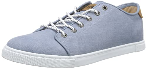 Hub Chucker C06 Mens Low-Top Sneakers Blau (arona Blue) 10 UK