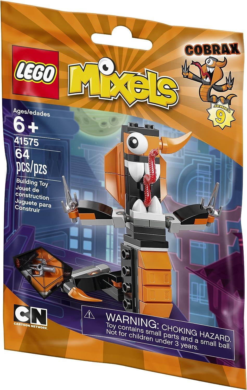 6137180 64 Piece LEGO Mixels 41575 Cobrax Building Kit