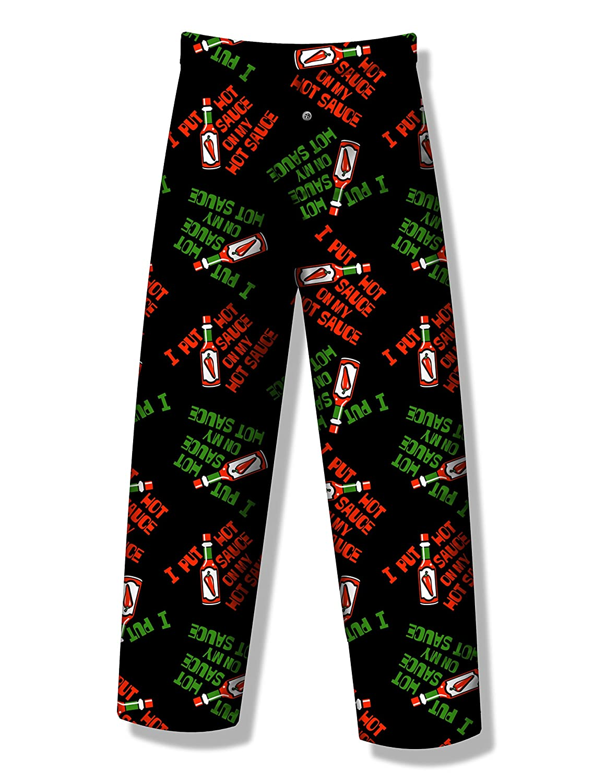 Hot Sauce Lounge Pants for men Large