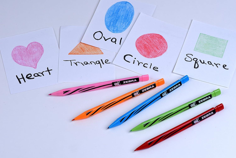 Zebra Mechanical Color Pencil Set of 12 Colors