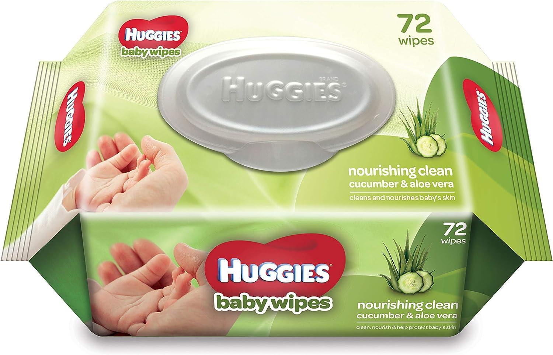 Huggies Cucumber and Aloe Vera baby Wipes