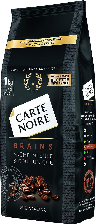 carte noire cafe en grains classique 1kg