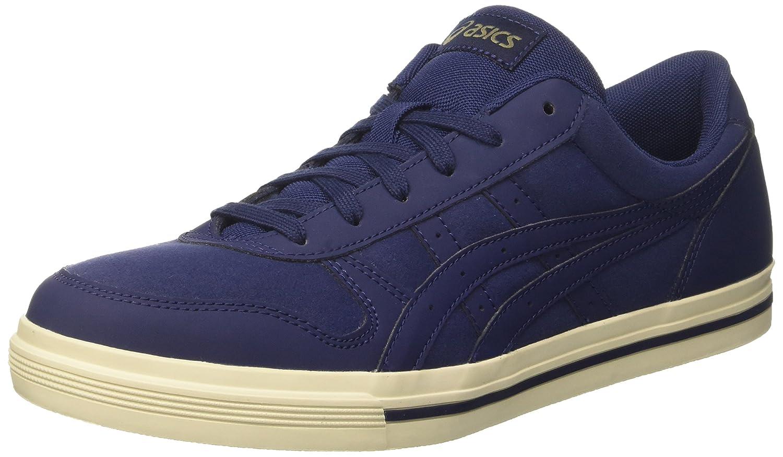 Asics Herren Aaron Sneaker, Grau  41.5 EU|Blau (Peacoat / Peacoat)