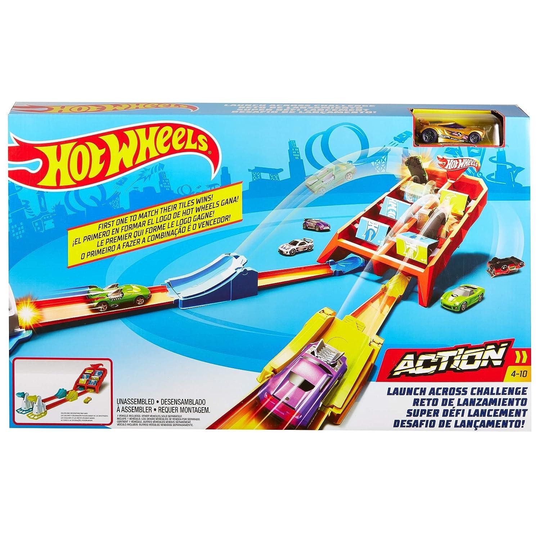 multicolor GBF89 Mattel Hot Wheels Campe/ón de choques pistas coches de juguetes ni/ños 4 a/ños