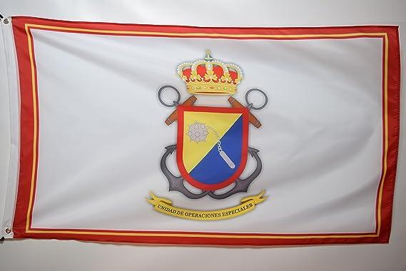 Unidad de Operaciones Especiales España fuerzas especiales promoción garaje sótano dormitorio bandera 3 x 5: Amazon.es: Jardín