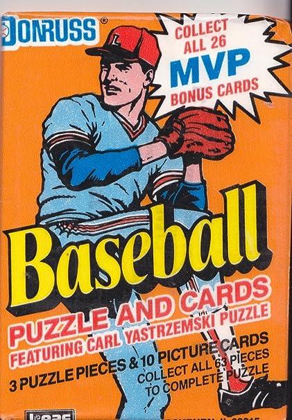 Amazoncom 1990 Donruss Baseball Puzzle And Cards 1 Wax