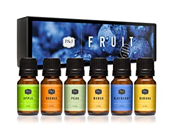 Amazon Com P J Fragrance Oil Fruit Set Scented Oil For Soap Making Diffusers Candle Making Lotions Haircare Slime And Home Fragrance Beauty