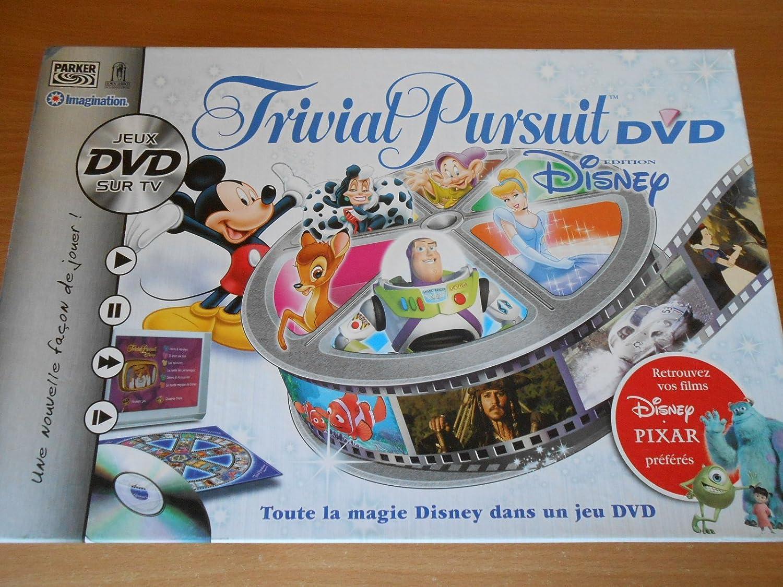 Hasbro - Juego de empresa - Trivial Pursuit Dvd Disney: Amazon.es ...