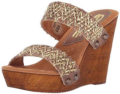 c1d0ec24fe27 Sbicca Women s Dottie Wedge Sandal