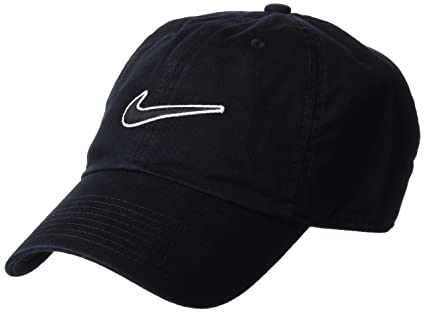 Amazon.com   Nike Unisex Essentials Heritage86 Cap Black   Sports ... f9b6b8e03e64