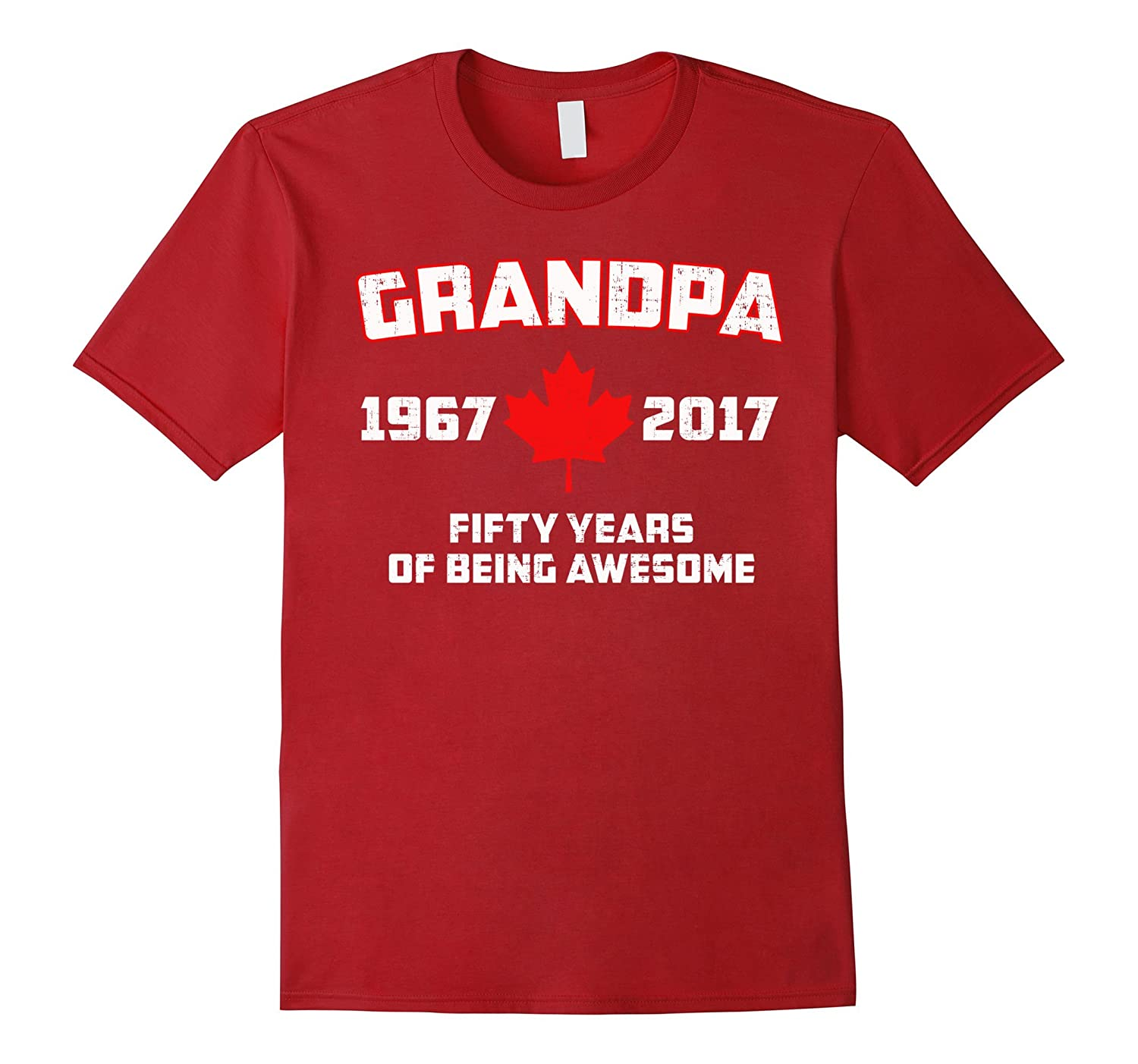 50th Birthday Gift For Canadian Grandpa from Granddaughters