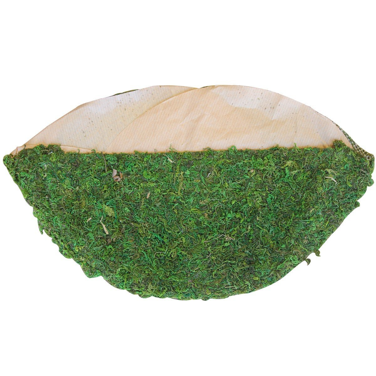 Moss Liner Semicircle for Basket Filling Layer 10 in.