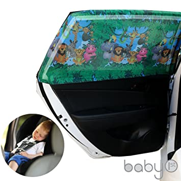universal car sun shades cover for rear side window provides maximum uv protection for baby