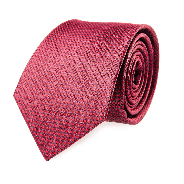Pelo Corbata de seda roja de la tela escocesa 7,5 cm: Amazon.es ...