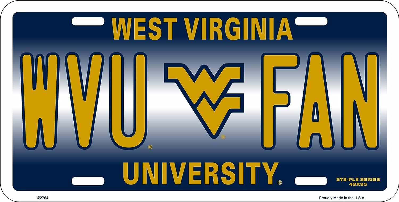 HangTime WVU FAN West Virginia Novelty License Plate Tag City Auto tag
