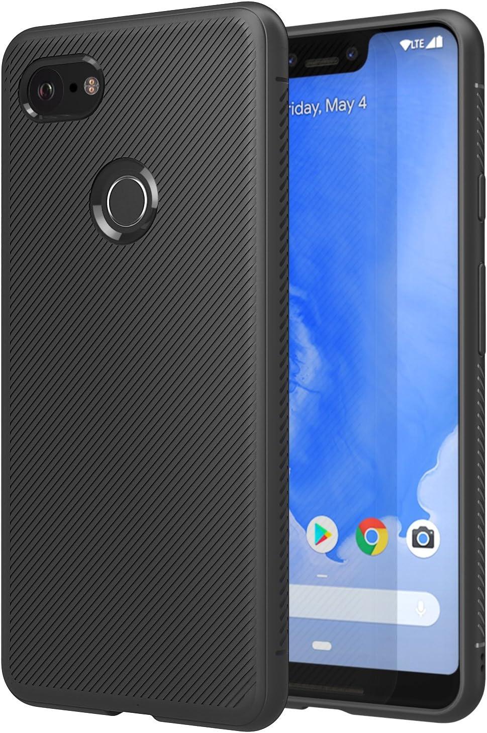 MoKo - Carcasa para Google Pixel 3 XL, Ligera, a Prueba de Golpes ...