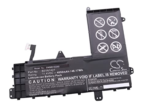 vhbw Li-Ion batería 4050mAh (11.4V) Negro para Ordenador portátil Laptop Notebook