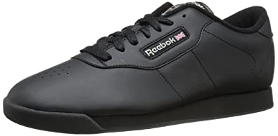 Reebok Classic Women's Princess Fashion Sneakers, Black,