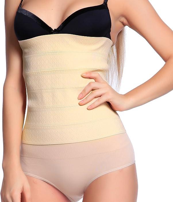ed63a46ab8 Surepromise Slimming Belt Body Waist Tummy Cincher Girdle Shaper Training  Tight Corset  Amazon.co.uk  Clothing