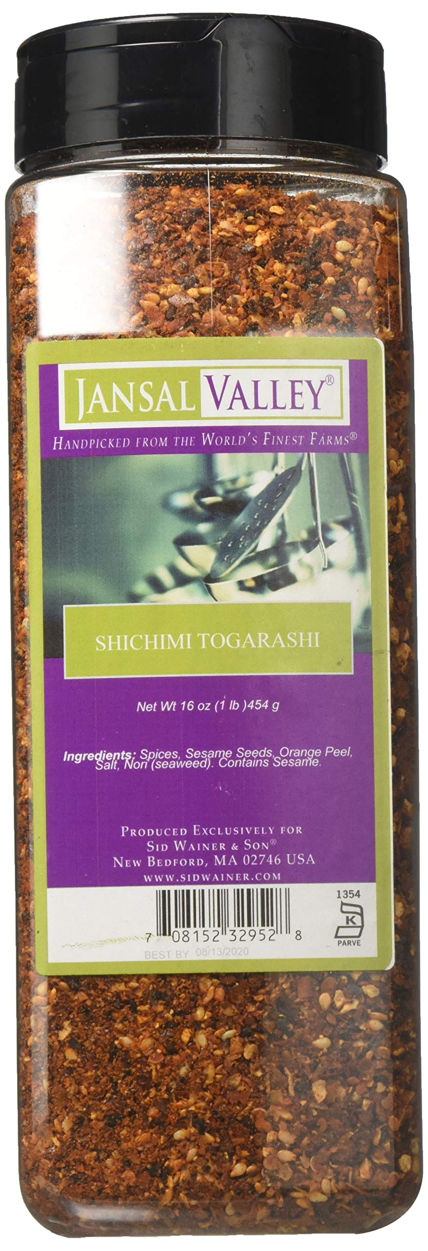 Jansal Valley Shichimi Togarashi, 16 Ounce by Jansal Valley