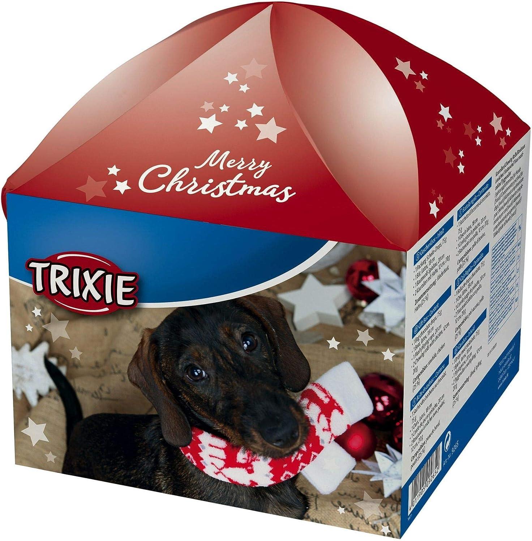 Trixie Xmas Caja de Regalo, para perros, 4 piezas: Amazon.es: Productos para mascotas