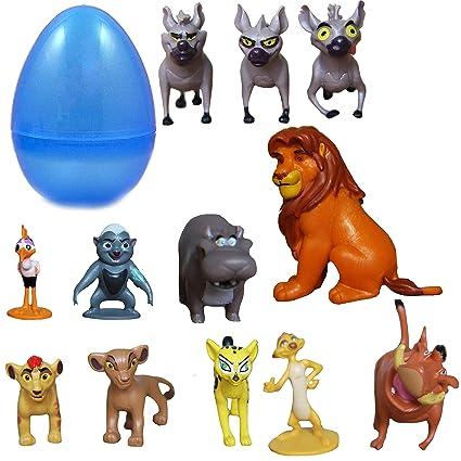 Amazon.com: Park Ave 12 figuras de león guardia con ...