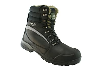 Rockfall Men's High specification Cold Temperature Boot US Size 8 Black