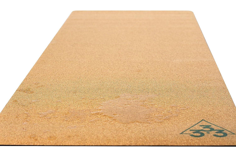 Amazon.com: Esterilla de yoga de corcho de lujo, grande ...