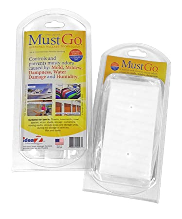 MustGo Odor Eliminator Solid Bar   Controls And Prevents Damp, Musty,  Mildew Odors In