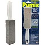 Removedor de anel de vaso sanitário Pumie, TBR-6, pedra de bomba cinza com alça, remove anéis de vaso sanitário desagradáveis