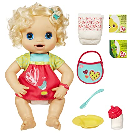 Amazon.com  Baby Alive My Baby Alive (Caucasian) (Discontinued by  manufacturer)  Toys   Games d69a793091