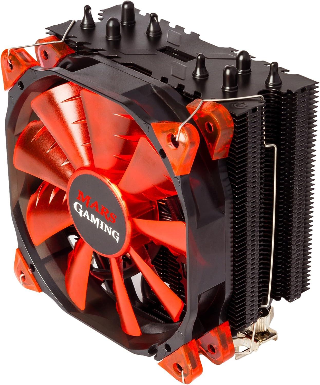 Mars Gaming MCPU3 - Disipador gaming para ordenador (ventilador ...
