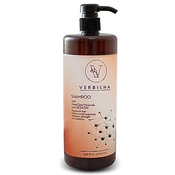 Dead Sea Salt With Keratin Complex Hair Growth Treatment Shampoo With Dead  Sea Salt Minerals
